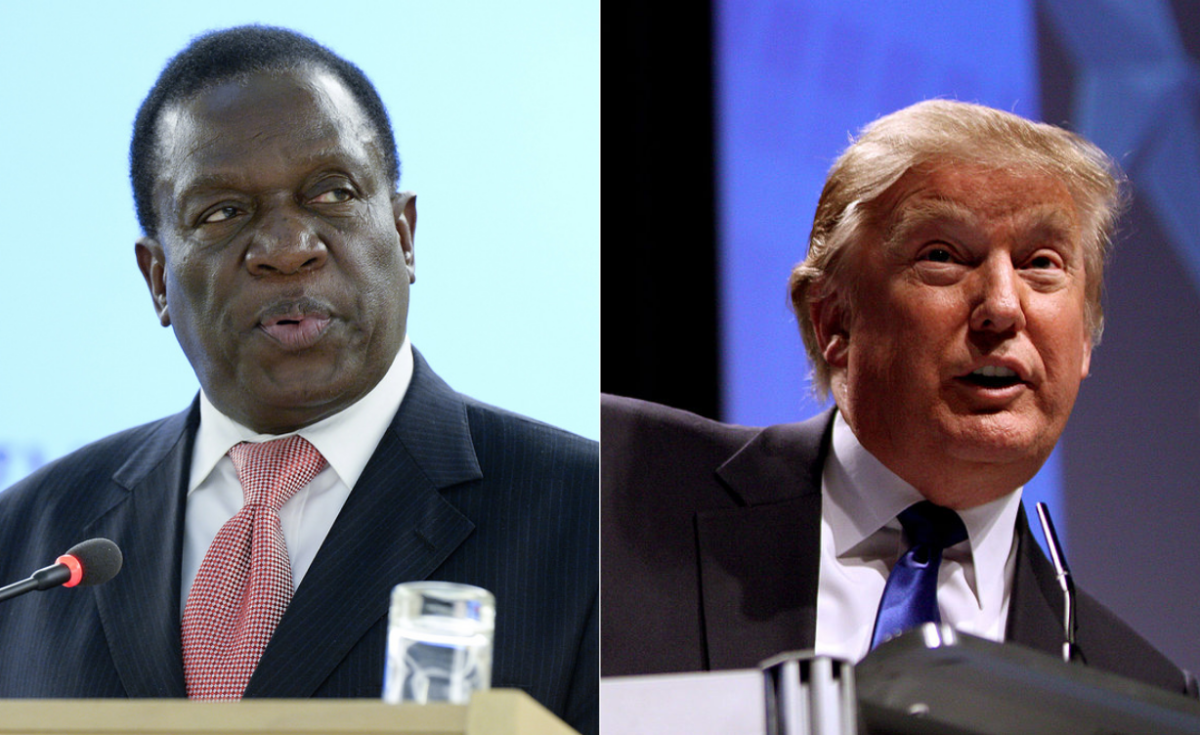 """Mnangagwa Rubbishes Trump Sanctions """"America Isn't The Only Country In The World"""""""