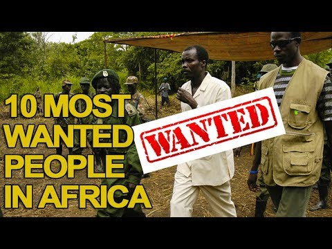 10 Most Wanted 'Criminals' In Africa