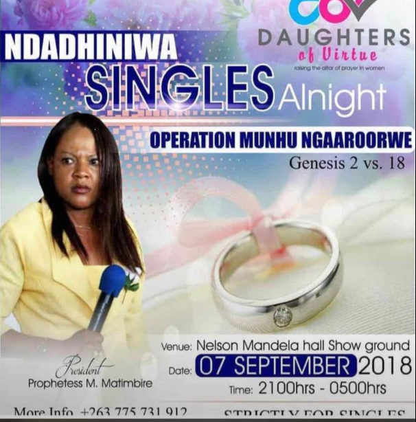 Zim Single Women Plead To Desperation For Marriage