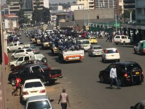 Police Intensify Clampdown on Vendors