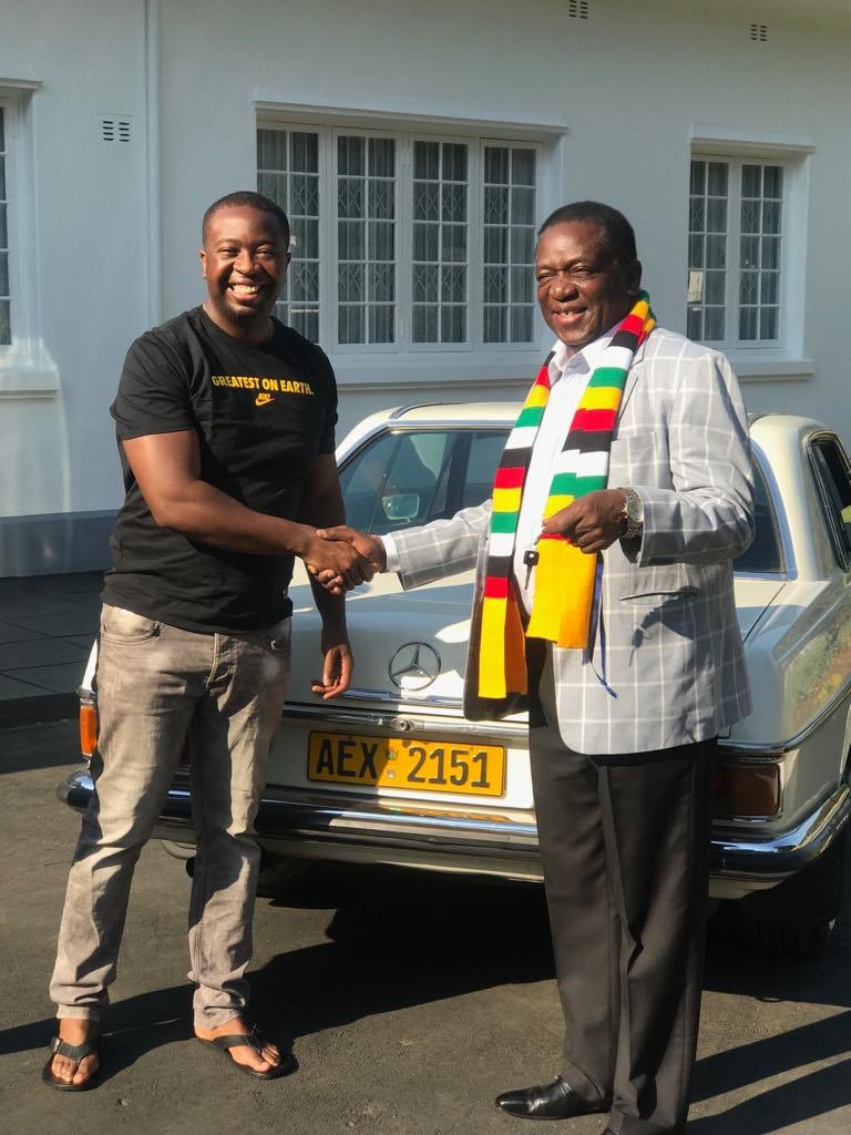 ED's Son Gifts Dad With Vintage Mercedes