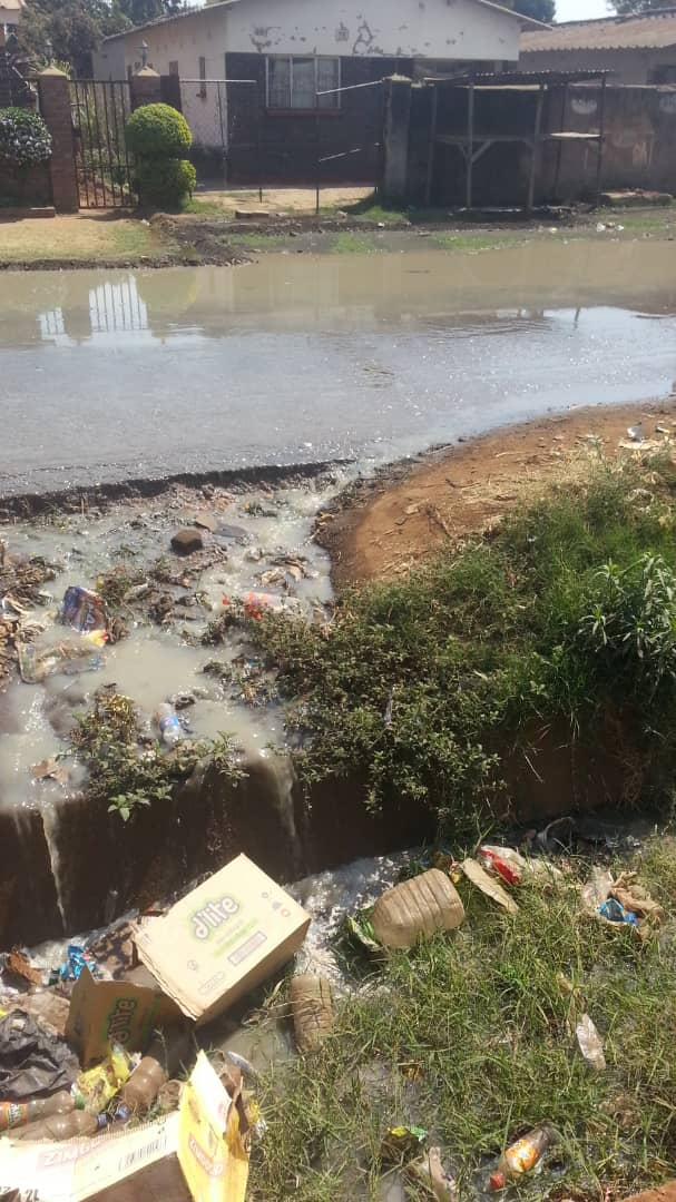 Sewer Continues to Flow All Over Cholera Ravaged Glen View