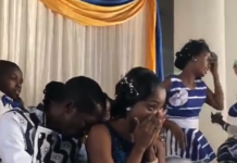 Tuku Brings This Couple To Tears When He 'Surprise Enters' At Wedding!
