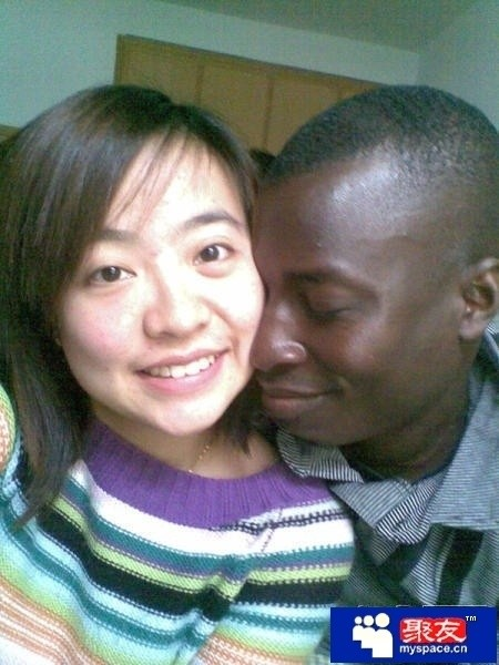 Chinese girl dating black man