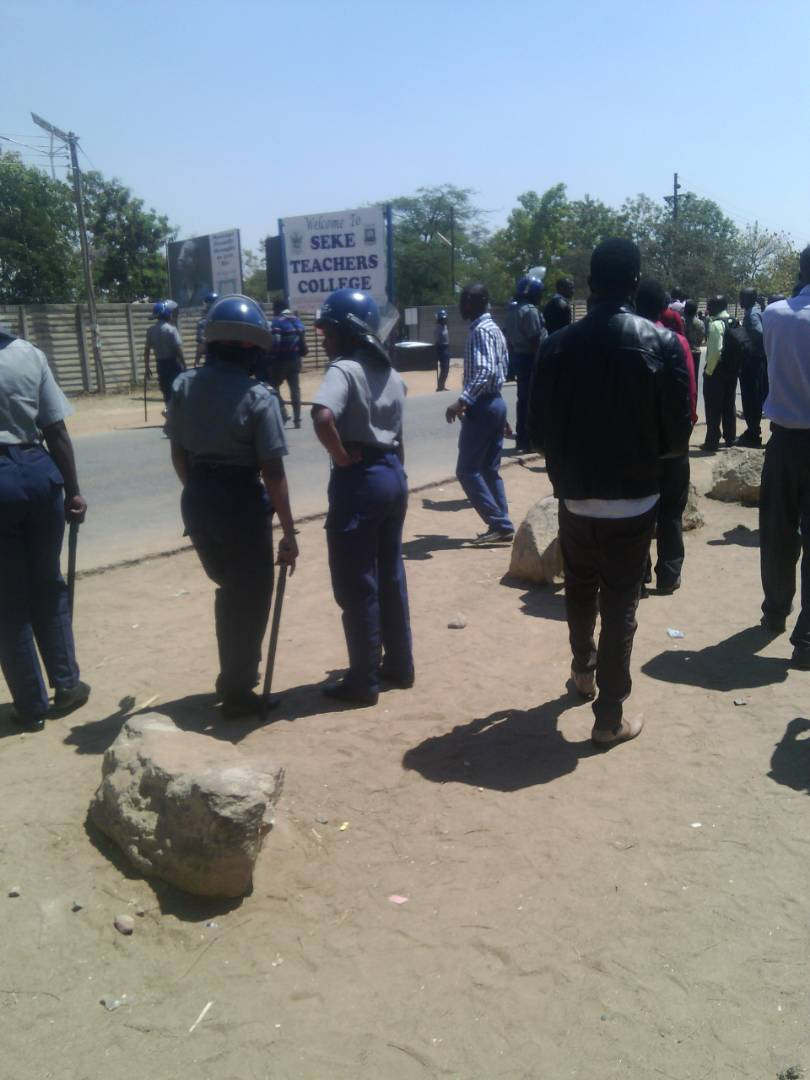 Chaos at Seke Teachers College