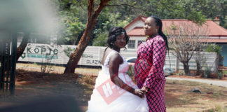 BRIDE STORMS OUT OF WEDDING