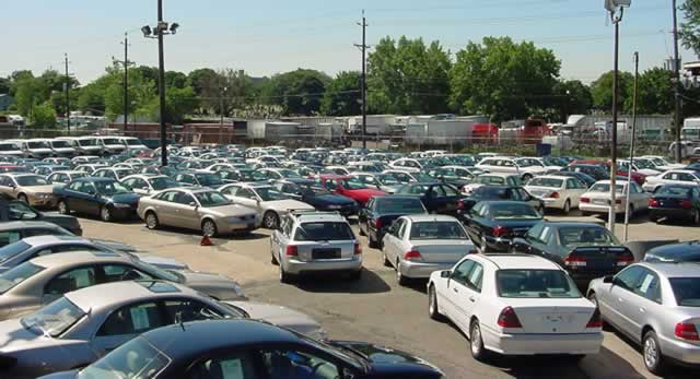 Vehicle Import Volumes Fall By Over 50%