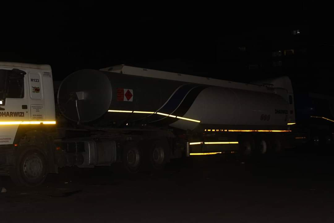 Fuel Truck Spotted Feeding Petrol Into The Black Market