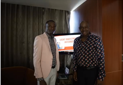 MATAZ AND THE PROPHET IN INDONESIA : PICTURES Tich Mataz with Pastor Paul Sanyangore whose miracles were exposed as fake by a relative. He has since taken his phone calls to God miracle to Indonesia.