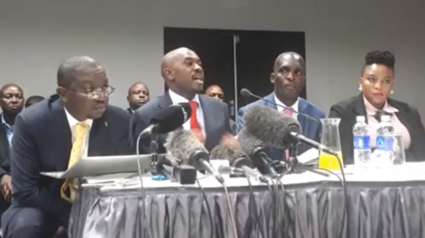 August 1 Shootings Were Choreographed Says Chamisa