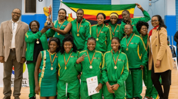 """Zim Netball Team """"The Gems"""" Continue To Do Nation Proud"""