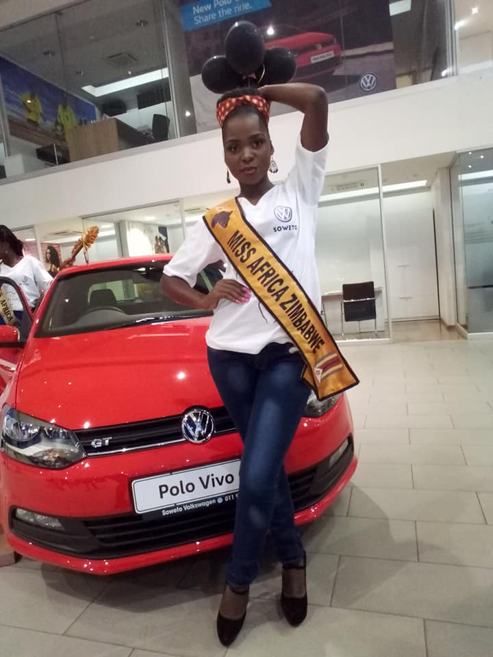 ZIMBA CROWNED MISS AFRICA