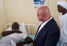 Minister pays disabled man's medical bills