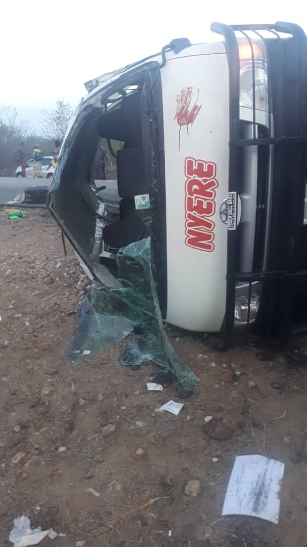 Another Kombi Crashes In Chivi