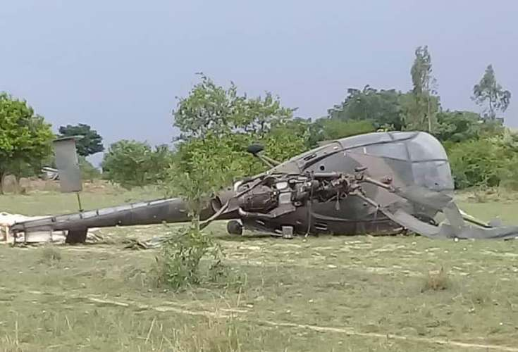 Helicopter land crush in Gutu