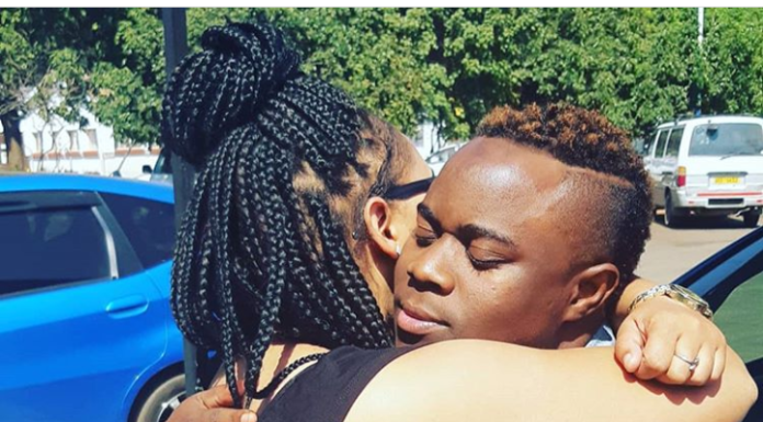 Sebastian Magacha finds comfort in 'new bae's arms