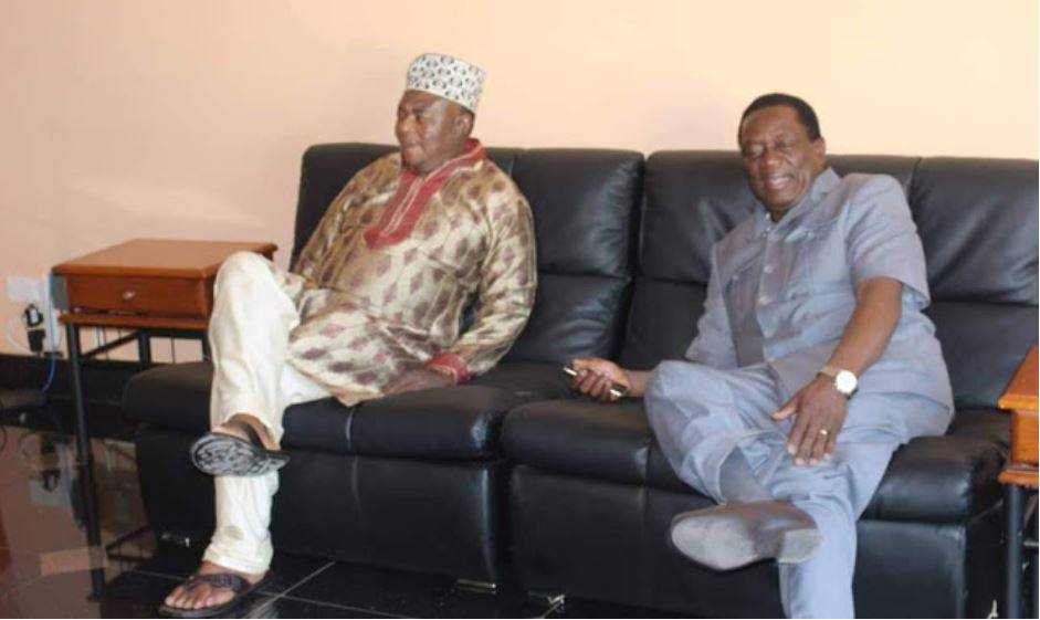 VP Constantine Chiwenga dressed in Nigerian attire picture goes viral