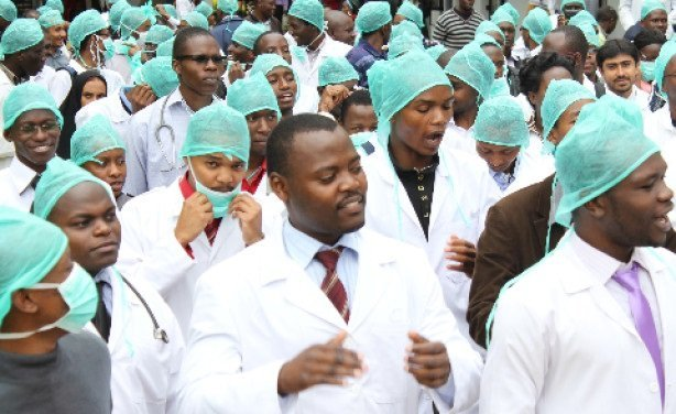 Just In Striking Doctors Removed From Payroll