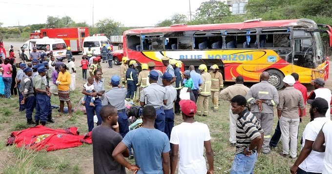 9 Year Old Witnesses Mother Die In Bulawayo Bus Accident