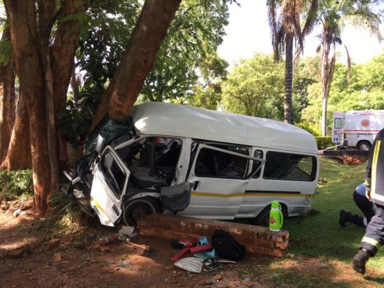 Kombi In Head On Collision With Private Car In Greendale
