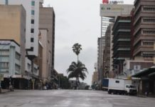 Empty Harare Pictures That Govt Didn't Want You To Share Via Social Media