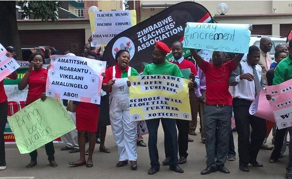 Rural Teachers Protest: Nine Leaders Arrested