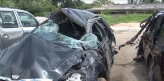 5 Perish In Chinhoyi Toyota Wish Horror Crash