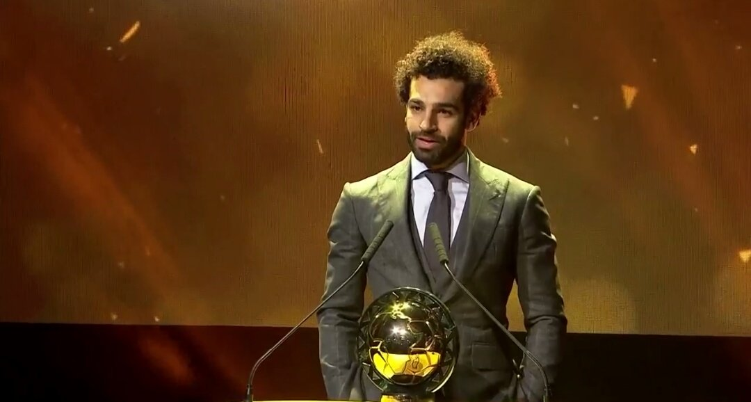 MO SALAH WINS AFRICAN PLAYER OF THE YEAR AGAIN