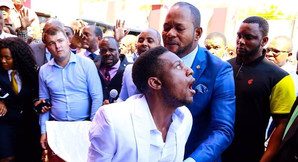 "SA's Pastor Alph Lukau ""Raises"" Zimbabwean Man Back From The Dead"
