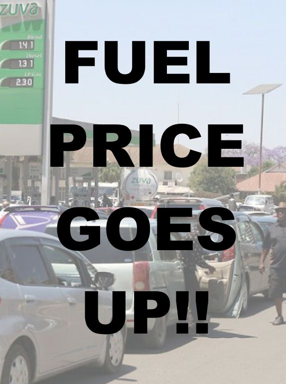 fuel price goes up