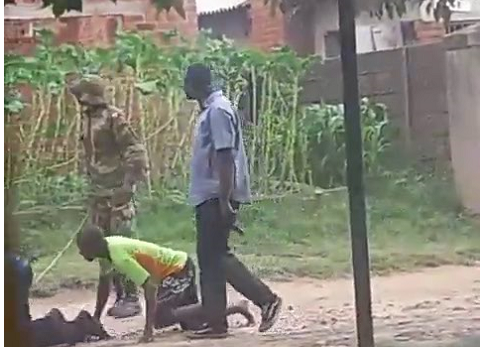 Soldiers Exposed Beating Up Women & Forcing Men To Crawl Through The Roads