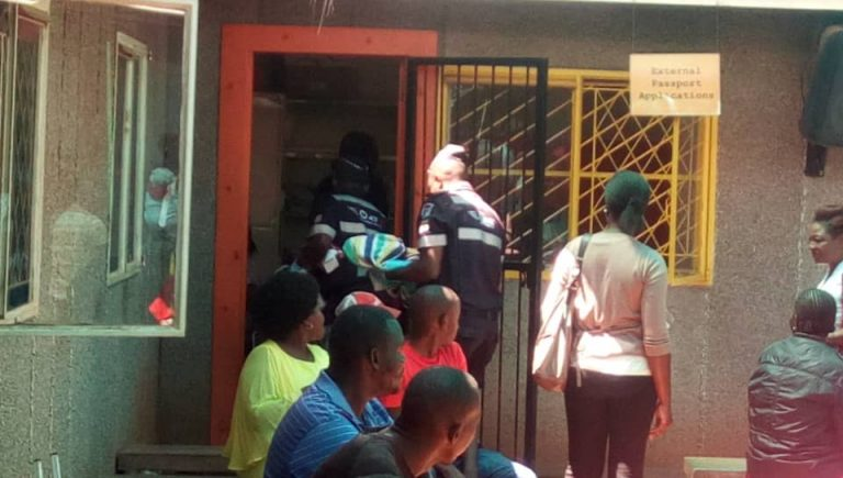 Glenview woman gives birth in Passport queue