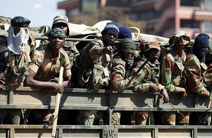 Zimbabwe reels under army crackdown