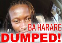 Baba Harare Dumped!