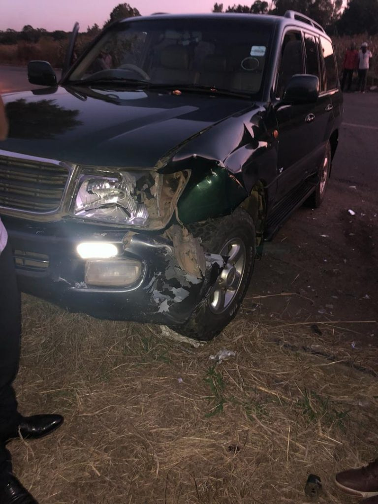 Temba Mliswa in accident