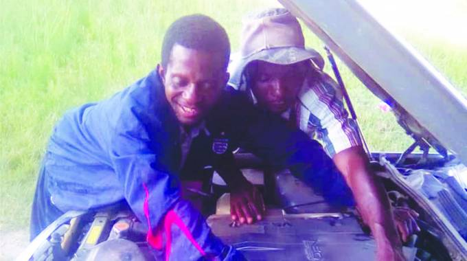 Visually impaired mechanic defies the odds