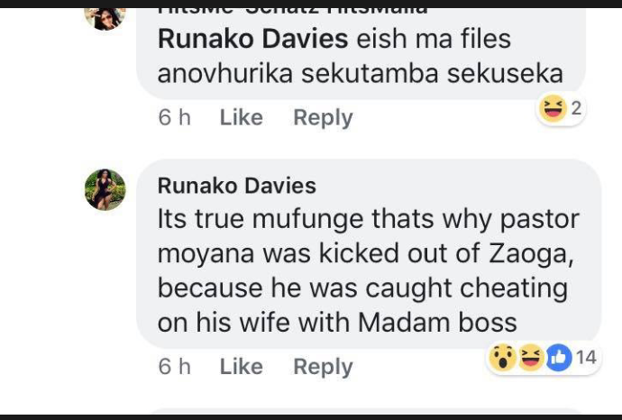 Madam Boss Fingered In Illicit Affair With Married Ex Zaoga Pastor