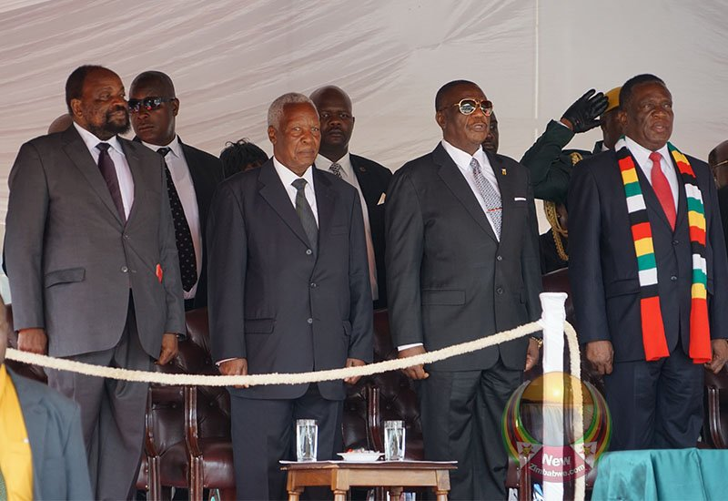 Mnangagwa Elevates Mugabe Preferred Successor