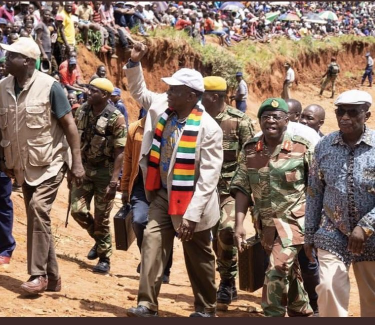 "Mnangagwa Claims Damage Was Done By Unexplained Tremors Which Brought ""Foreign Rocks"" Before Cyclone Idai Arrived"