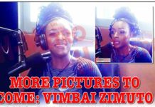 More pictures to come: Vimbai Zimuto