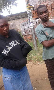 Married Woman Caught Redhanded with Chikomba, Taken To Police With No Clothes!
