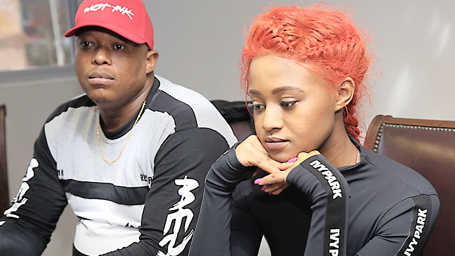 Mampintsha caught on camera beating up Babes Wodumo
