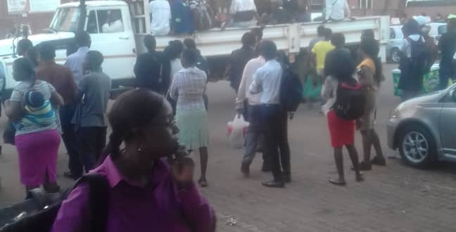 Passengers Stranded After ZUPCO Buses Pull No Show
