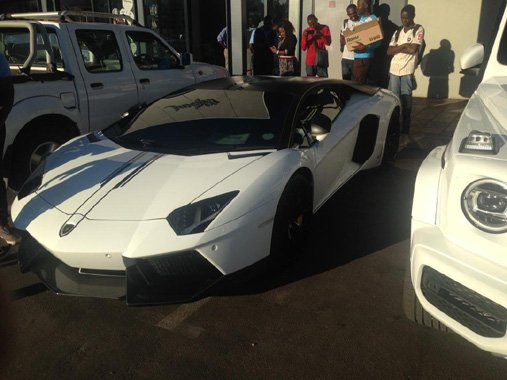Owner Of The Mysterious Lamborghini Aventador Rocking Harare Streets