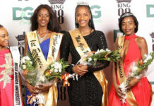 MISS AFRICA UNI CROWNED