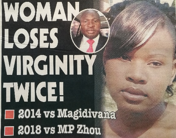 WOMAN DEFLOWERED TWICE !