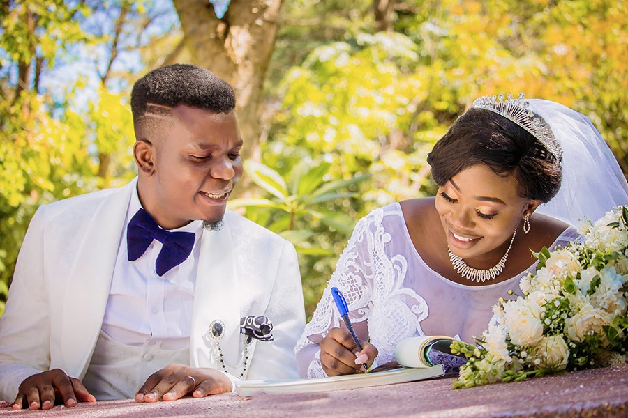 New Guy marries Makion's daughter