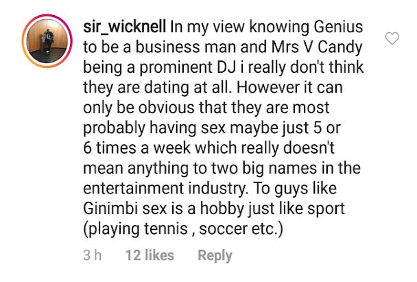 Sir Wicknell comments