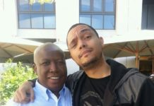 Trevor Noah and Julius