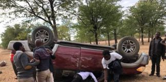 BREAKING: Chamisa's Lawyer Thabani Mpofu In Car Accident